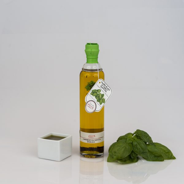 "BASIL FLAVORED EXTRA VIRGIN OLIVE OIL ""ALPHA 20cl"""