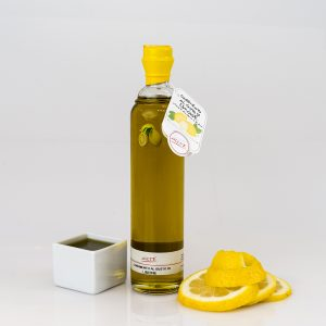 "LEMON FLAVORED EXTRA VIRGIN OLIVE OIL ""ALPHA 20cl"""