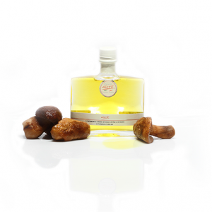"PORCINI MUSHROOM FLAVORED EXTRA VIRGIN OLIVE OIL ""TARQUINIA 20cl"""