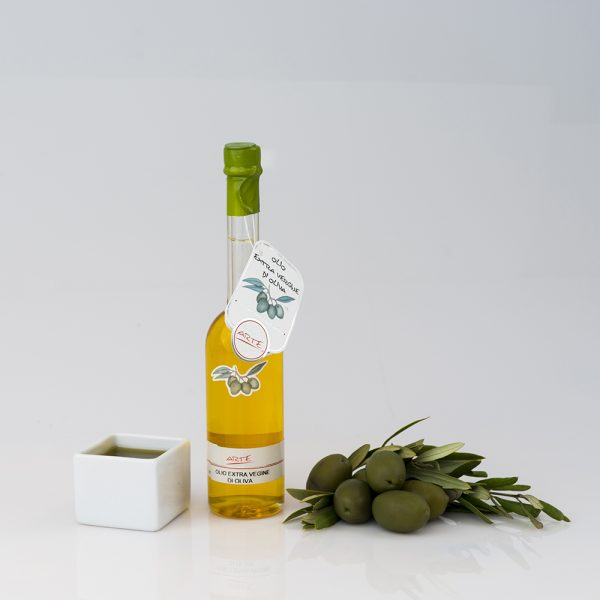 "BASIL FLAVORED EXTRA VIRGIN OLIVE OIL ""RAFFAELLO 10cl"""